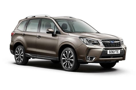 Subaru Forester by Subaru Forester Gets A Tweak Or Two For 2016 By Car Magazine