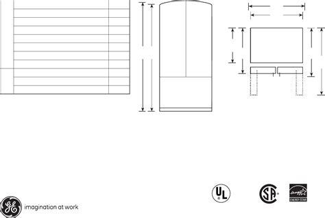 ge refrigerator gfslkky user guide manualsonlinecom