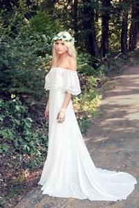 45 beautiful boho chic wedding dresses happyweddcom With boho chic wedding dresses