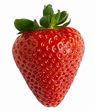 Transparent Strawberry Fruit