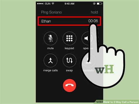 iphone three way call 5 easy ways to 3 way call a person with pictures 15484