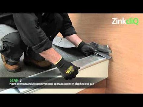 richtprijs dakgoot zink zinkcliq deklijst systeem in zink en koper youtube
