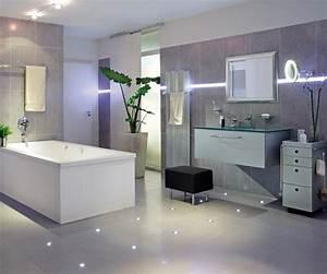 Led Beleuchtung Badezimmer : led indirekte beleuchtung f c bcr badezimmer lila und schwarz farbe bad beleuchtung modern ~ Markanthonyermac.com Haus und Dekorationen
