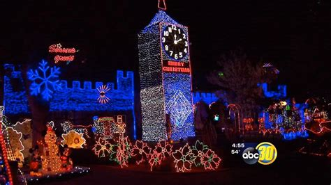 fresno home featured on great christmas light fight