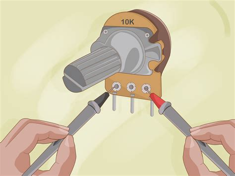 How Test Potentiometer Steps With Pictures Wikihow