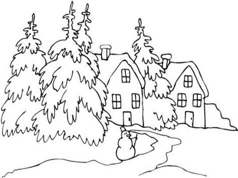 Dibujos para pintar de un paisaje otoñal Imagui