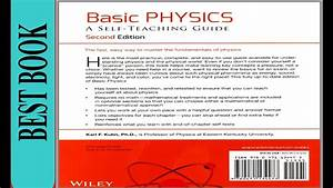Book Review Of Basic Physics A Self-teaching Guide