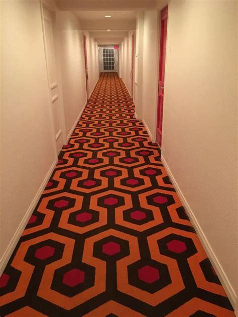 hallway   parker hotel  palm springs california