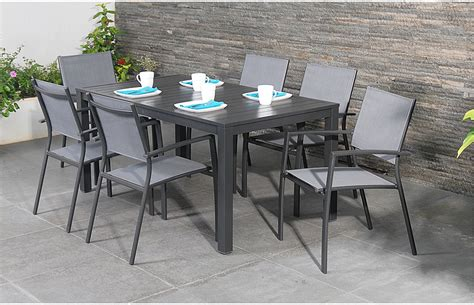 6 seater garden dining set out and out original