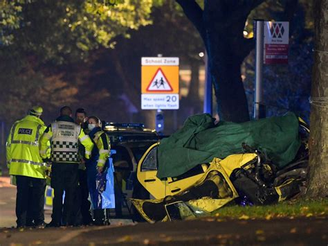 Two teenage girls and a man killed after car smashes into ...