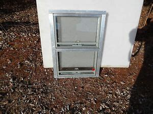 rv trailer shed window awning safety glass   alum frame   ebay