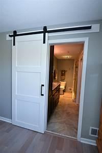 barn door with wrought iron trim maeser With barn door casing