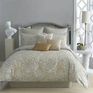 modern reversible beige pattern polyfilled comforter with soft 9pc king comforter set and beige