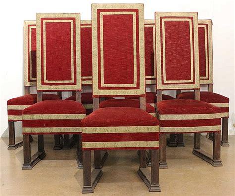 chaise style louis xiv huit chaises style louis xiv 224 haut dossier montants en boi