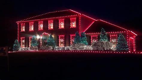 whole house christmas lights christmas lights on house