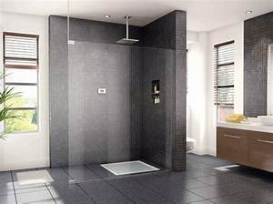 decoration salle de bain douche italienne With jolie salle de bain italienne