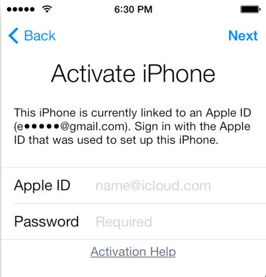 activate new iphone at t ios how to activate a used iphone bound to another
