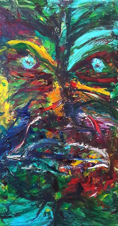 Mask Abstract Expressionism Masks Expression Painting Face