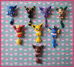 Chibi Charms Pokemon Eeveelutions