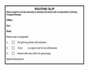 routing slip template 28 images office routing slip With office routing slip template