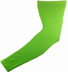 Image Gallery neon green arm sleeve