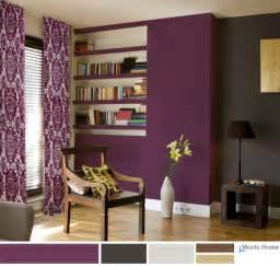 living room color purple home interior design
