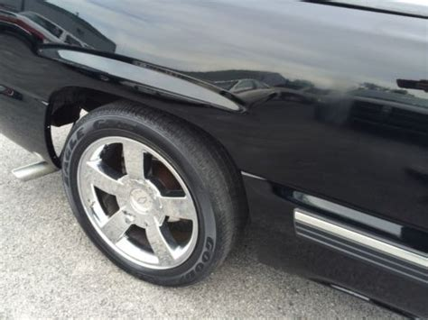 sell   chevy silverado  auto lowered ss wheels