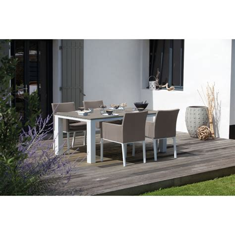 chaise couleur taupe awesome table de jardin couleur taupe pictures amazing