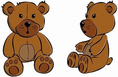 Teddy Clipart Cartoon Bears Bear Transparent Clipartmag