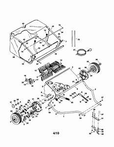 Craftsman 42 U0026quot  Lawnsweeper Parts