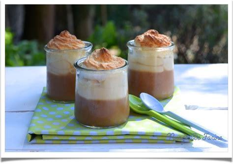 dessert gourmand et leger mousse de pomme meringu 233 e nuage de farine