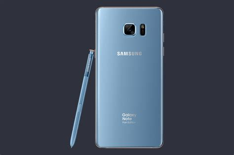 note fan edition galaxy note 7 quot fan edition quot is official with smaller