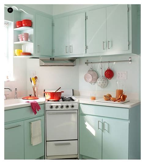 kitchen remodel keeping old cabinets love the colors in this vintage kitchen red aqua