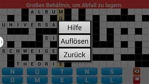Ein Kunstleder Kreuzworträtsel : kreuzwortr tsel deutsch apps bei google play ~ Eleganceandgraceweddings.com Haus und Dekorationen