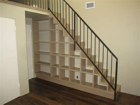 Loft Stair Cubby Storage