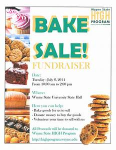 Bake Sale Fundraiser Pictures to Pin on Pinterest
