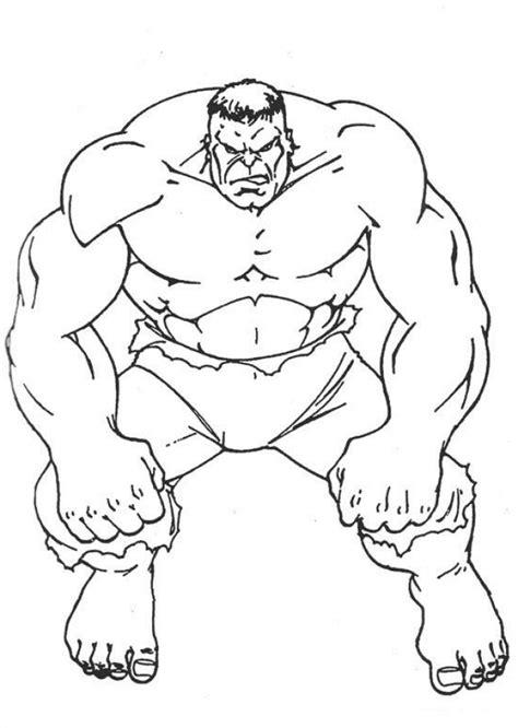 free super heroes paint printouts avengers hulk coloring
