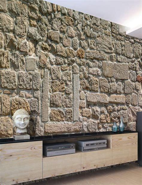 Tappezzeria Da Muro Carta Da Parati Muro Di Pietre Carta Da Parati Fotomurale