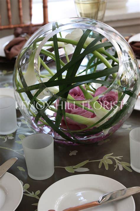 Tischgestecke In Glas by Unique Flower Arrangement Flower Arrangements Created