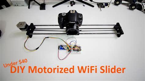 diy slider diy motorized wifi slider novaspirit