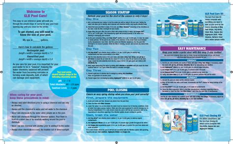 Pool Care Guide  Home Design