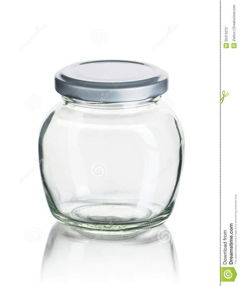 Empty Jam Jar Stock Photography   Image: 30413212