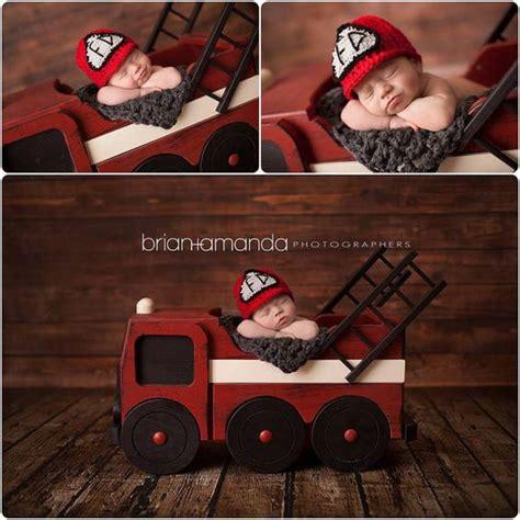 fire truck prop photo prop newborn photography