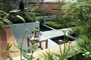 Patio Et Petit Jardin Moderne Des Ides De Design D