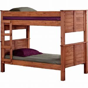Chelsea home furniture twin over twin post bunk bed for Hometown furniture exchange