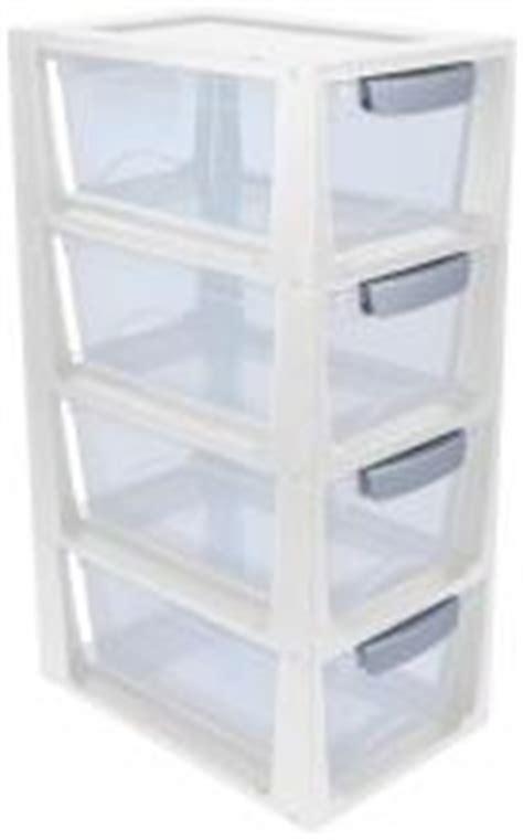 tour en plastique de rangement pas cher tour de rangement 4 petits tiroirs en plastique 6l