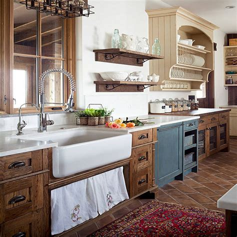 Farmhouse Kitchen Countertops by Farmhouse Kitchen Bath Characteristics For Your Next