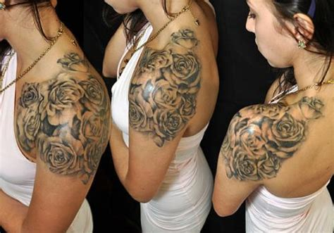 25 Shoulder Tattoos For Girls Which Surely Standout