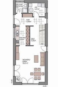 Attraktive Häuser Für Schmale Grundstücke : schmaler grundriss haus in 2019 haus grundriss schmales ~ Watch28wear.com Haus und Dekorationen