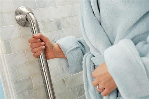 designer grab bars for bathrooms amazon com moen r8736d3gbn 36 inch designer bathroom grab bar brushed nickel home improvement